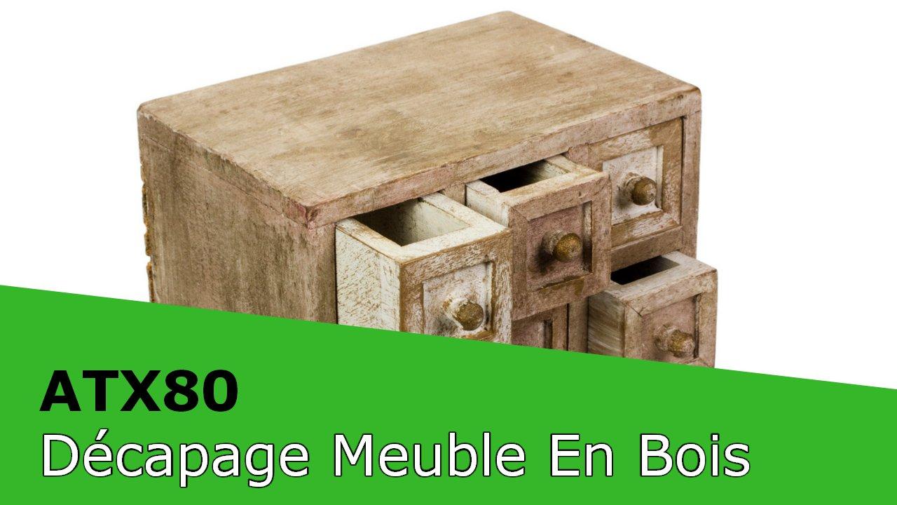 Decapage Cryogenique Meuble En Bois Merisier Francais Cryoblaster